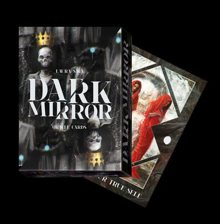 DARK MIRROR ORACLE CARDS - COFANETTO CON CARTE E LIBRO