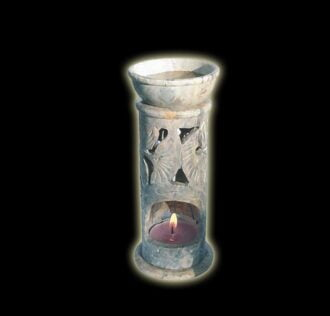 Aromatherapy lamp made of inlaid stone aj Mahal