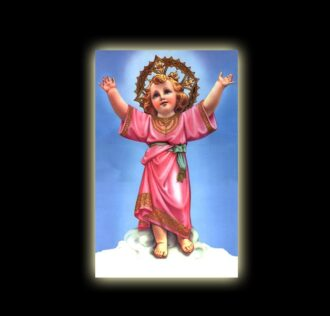 INFANT JESUS - sublimation ON ALUMINUM 30 X 20 CM