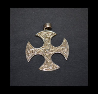 CELTIC CROSS SILVER 925 GR 6.5
