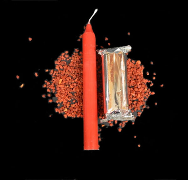CANDLE OF MARS KIT - RED - CM 19 X 2,2 FULL COLOR