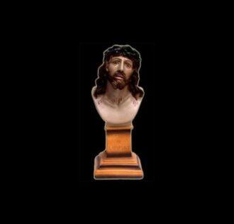 Plaster statue Ecce Homo cm 33