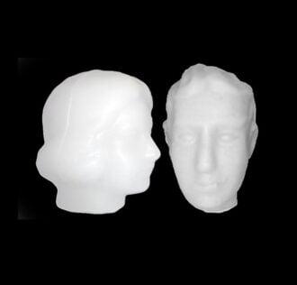Eledàs Uomo - Ritual Head of Wax (man)
