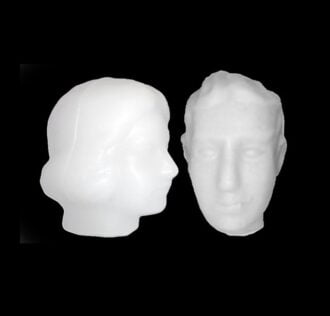 Eledàs Donna - Ritual Head of Wax (woman)