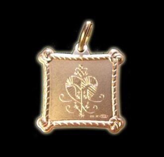 Vevè Erzulie medal - Silver 925