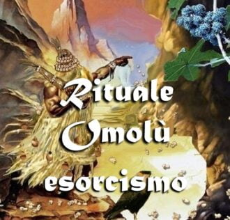 Excorcism ritual of Omulu