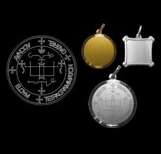 The seal of Archangel Gabriel - Silver 925