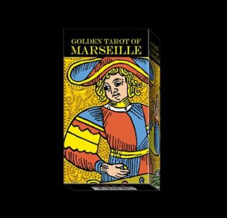 GOLDEN TAROT OF MARSEILLE - 78 CARTE