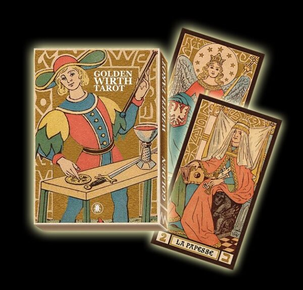 GOLDEN WIRTH TAROT - 22 CARTE