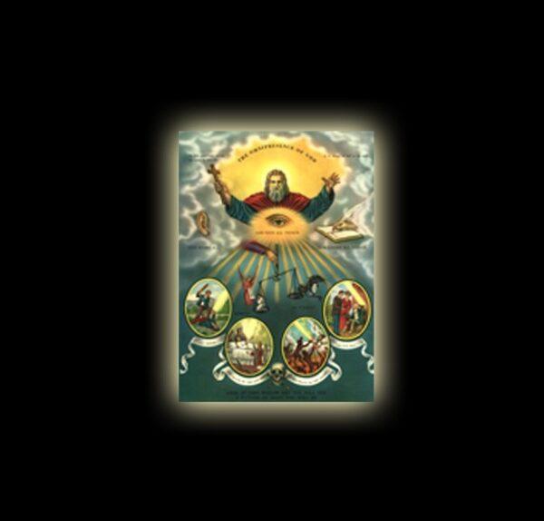 Omnipresence of God - sublimation ON ALUMINUM 30 X 20 CM