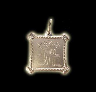 Vevè Grand Zombie medal - Silver 925