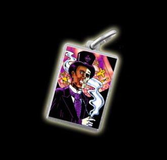 Medaglia - Immagine a colori GUEDE -  argento 925
