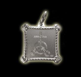 Vevè Guede Gay  medal - Silver 925