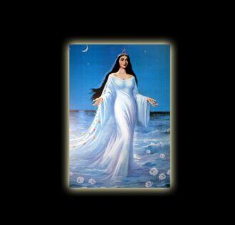 IEMANJA STELLA MARIS - STAMPA SUBLIMATICA SU ALLUMINIO CM 20 X 15