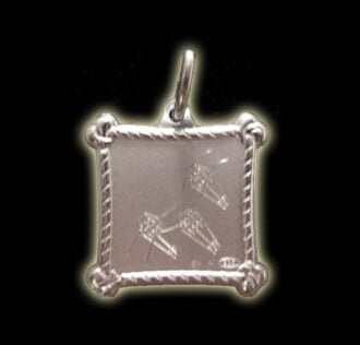 Vevè Le Mò medal - Silver 925