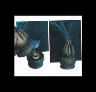 NAMASTE' CENSER - ceramic