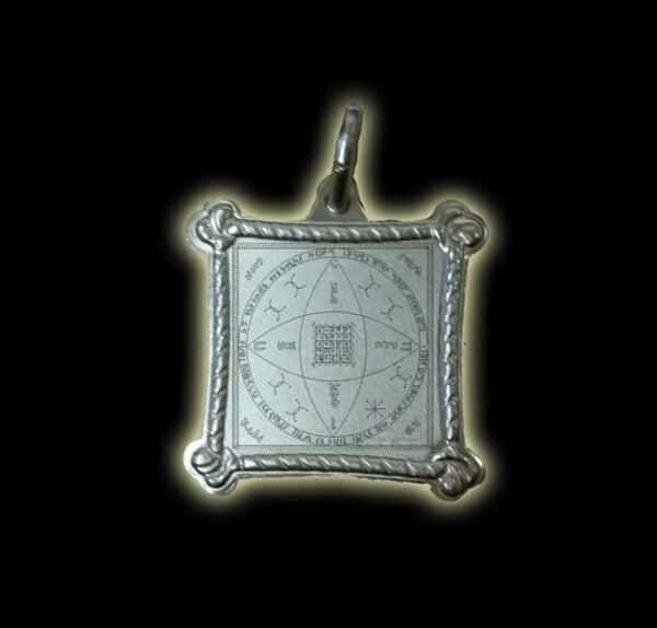 PENTACOLO DI LILITH - MEDAGLIA ARGENTO 925 GR 3