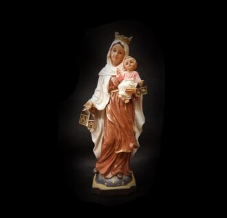 Plaster statue Virgin of Carmen CM 18 RESIN