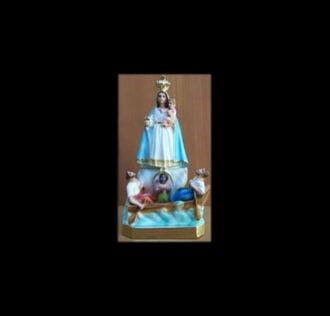 Plaster statue Madonna Del Cobre 27