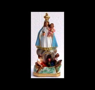 Plaster statue Madonna Del Cobre 19 cm