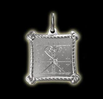 Vevè Maman Brigitte medal - Silver 925