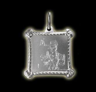 Vevè Marie Laveau medal - Silver 925