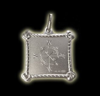 Vevè Met Kalfou medal - Silver 925
