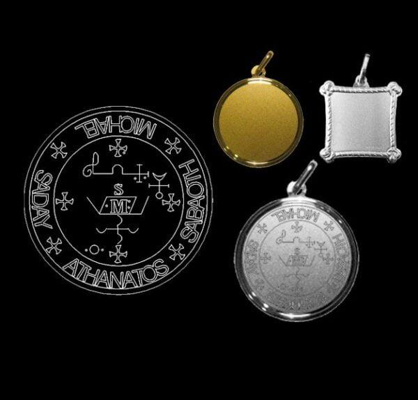 Sigillo dell'Arcangelo Michael - Argento 925