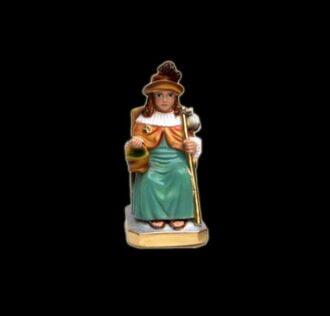 Statua in gesso Divino Nino De Atocha cm 17