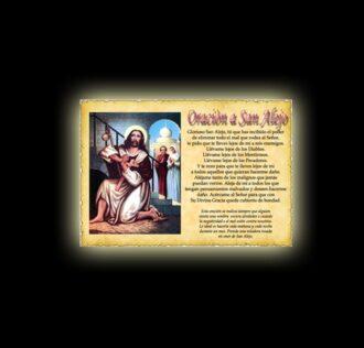 Saint Alexis 's prayer - Parchment