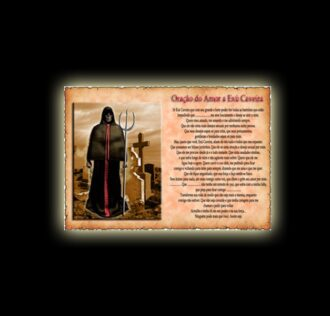 Orazione di Exu Caveira - Pergamena