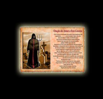 Exu Caveira prayer - parchment