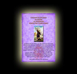 Great spell of Saint Elijah's prayer - Parchment