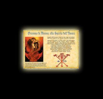 Prayer of Union - parchment