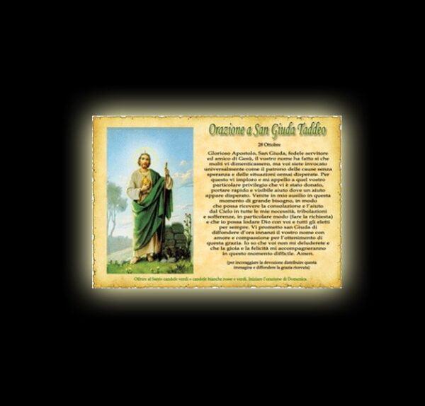 St. Jude Thaddeus's prayer - Parchment