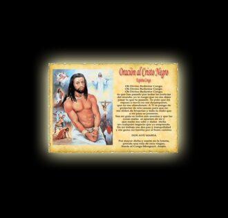 Black Christ prayer (Spirit of Congo) - Parchment