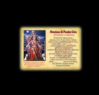 Orazione di Pomba Gira - Pergamena
