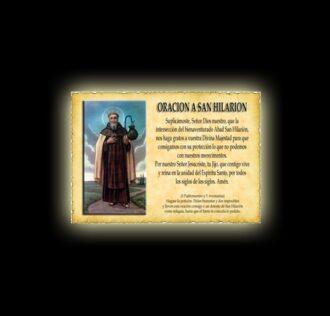 Saint Hilariòn's prayer - Parchment