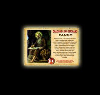 Orazione a San Gerolamo (Xangò) - Pergamena