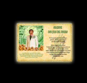 Orazione di Don Juan del Dinero - Pergamena