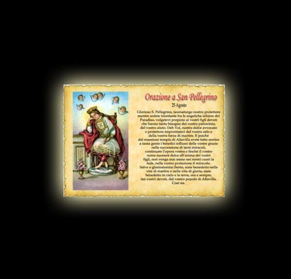 Saint Pellegrino's prayer - Parchment