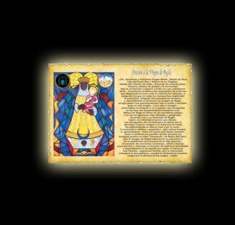 Orazione alla Vergine di Regla - Pergamena