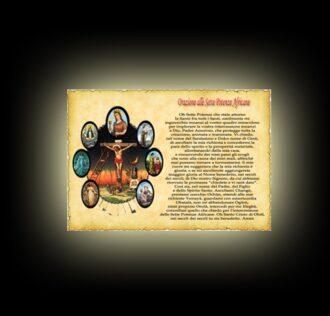 Orazione alle Sette Potenze - Pergamena