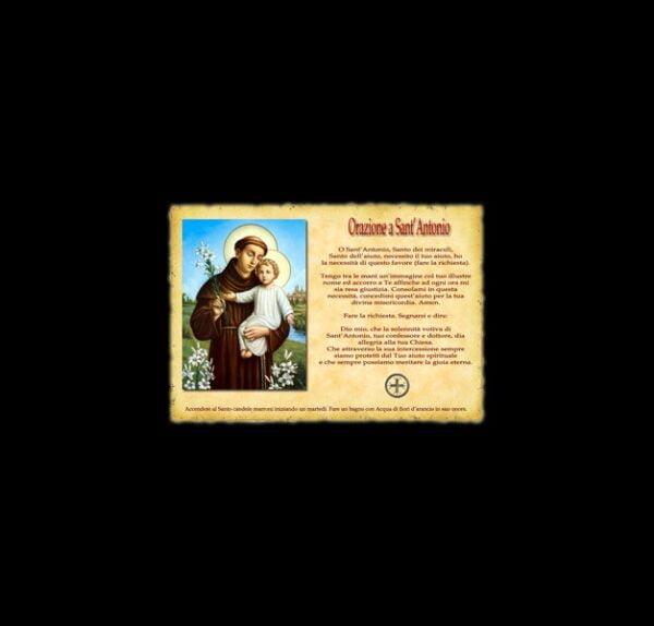 Orazione a Sant'Antonio - Pergamena