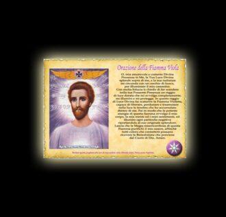 Saint Germain's prayer - parchment