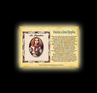 Saint Dymphna's prayer - Parchment