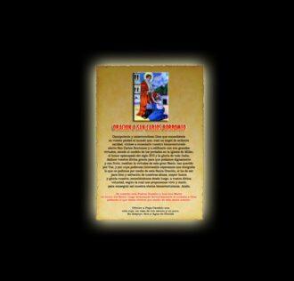 Orazione di San Carlo Borromeo - Pergamena