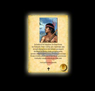 Orazione a Guaicapuro - Pergamena