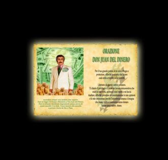 Orazione a Don Juan del Dinero - Pergamena