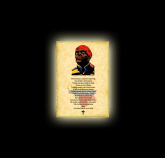 Orazione al Negro Felipe - Pergamena